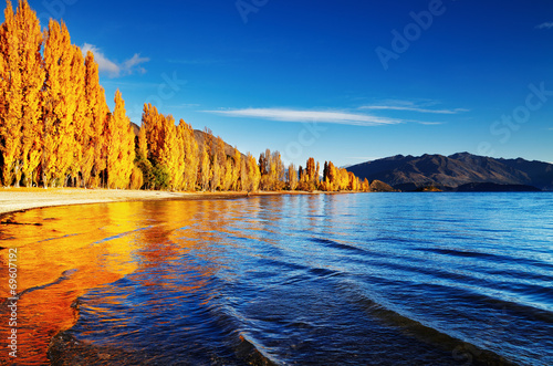 Lake Wanaka, New Zealand Canvas-taulu