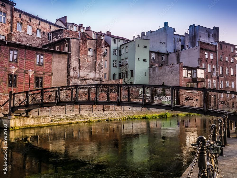 Fototapety, obrazy: Kanał Bydgoski