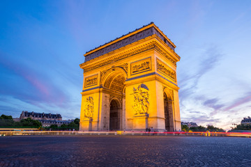 Fototapeta na wymiar Arc of Triomphe Paris