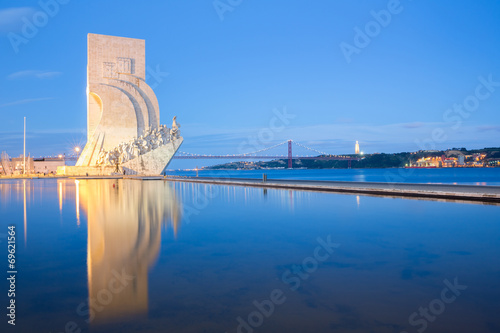 Fototapeta monument to the discoveries Lisbon