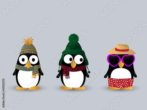 Fotografía Cute penguin characters