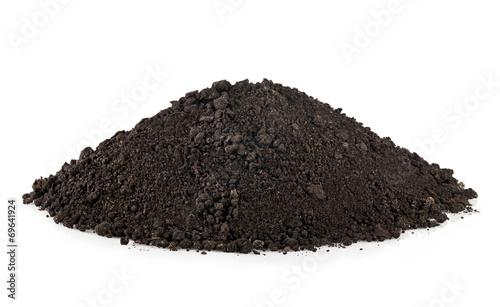 soil isolated Canvas-taulu