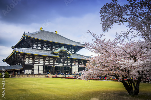 Foto op Plexiglas Japan Todaiji's main hall,the Daibutsuden (Big Buddha Hall)
