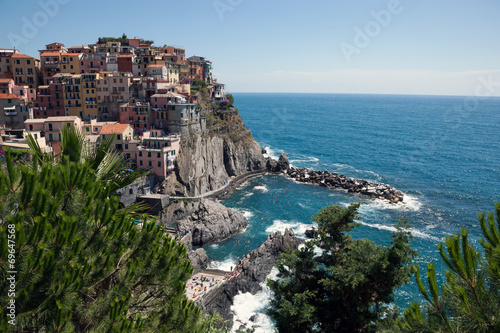 Manarola, Cinque Terre, Liguria, Italy Poster