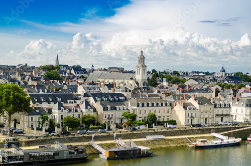 Angers, France, paysage Wallpaper Mural