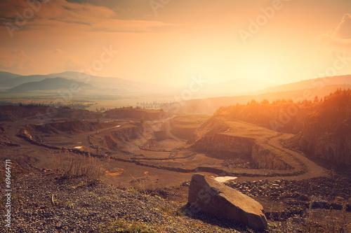 Fotografia, Obraz  Stone mine