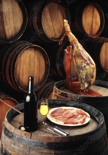 sherry wine cellar