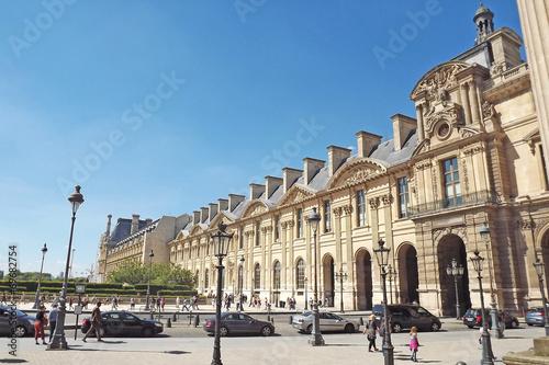 Fotografie, Tablou Paris Le Louvre