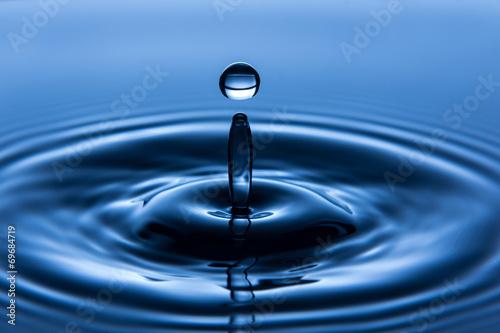 In de dag Water water drop