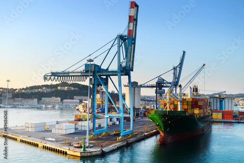 Fotografie, Obraz  Ancona port