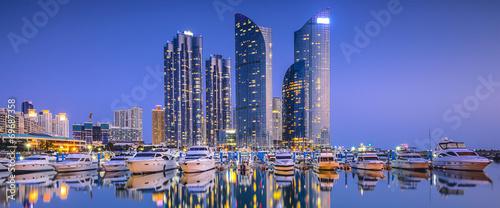 Fototapeta premium Busan, Korea Południowa Panorama miasta