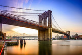 Fototapeta Nowy Jork - Brooklyn Bridge, New York City, USA