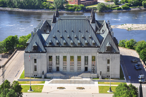Supreme Court of Canada, Ottawa, Canada Poster