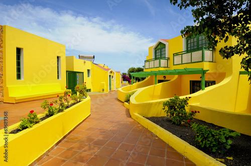 Fotografia  Fuerteventura, Wyspy Kanaryjskie,  Corralejo, architektura