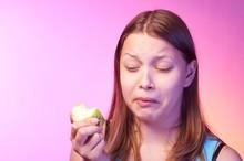 Teen Girl Eating Disgusting Ap...