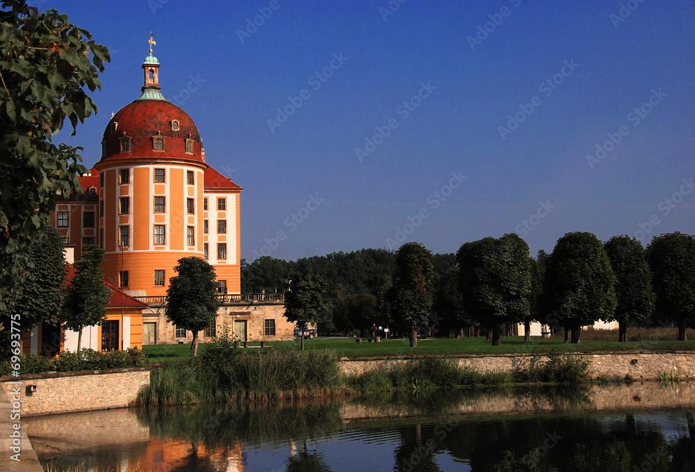 Photo  Turm der Moritzburg