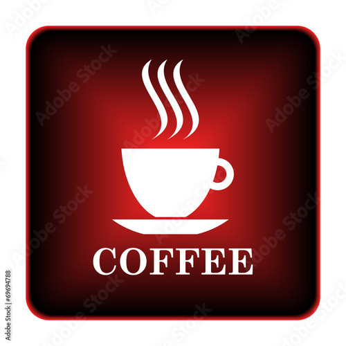Coffee cup icon - 69694788