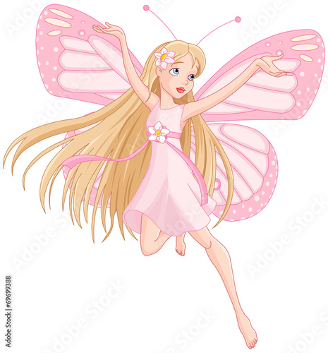 Beautiful flying fairy #69699388