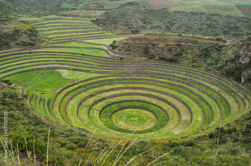 Fototapeta  Moray Inca's ruins, Peru