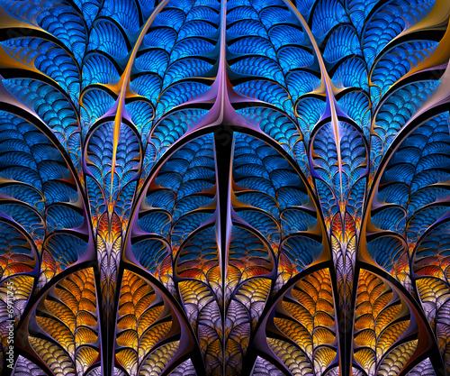 Photo  Computer generated fractal artwork