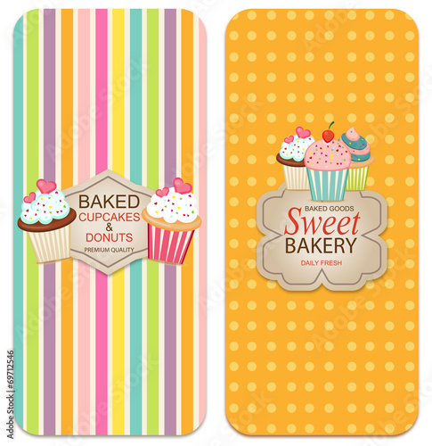 Photo  Bakery labels