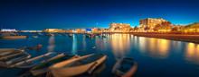 Ibiza Island Night View