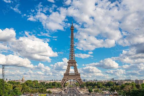Papiers peints Paris Eiffel Tower, Paris, France