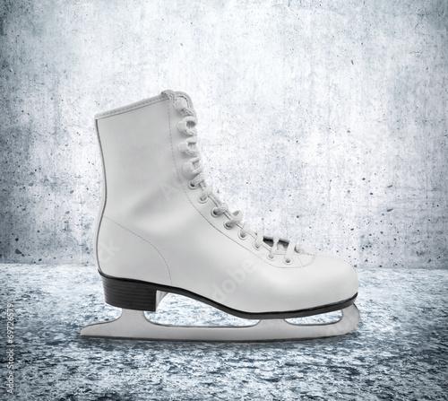 Fotobehang Wintersporten Figure Skate