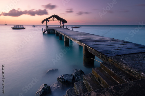Photo sur Toile Caraibes Pigeon Point, Trinidad & Tobago