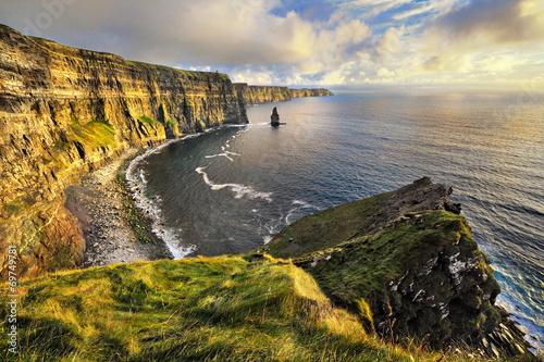 Fotografie, Obraz  Irlandia, klify Moheru