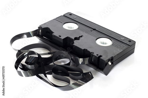 Fotografering  Old video tape