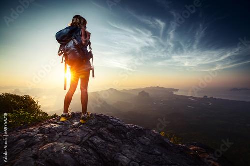 Fotomural Hiker