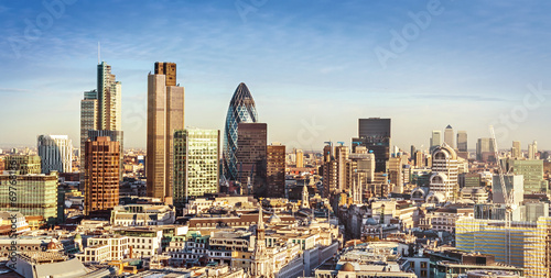 Tuinposter Londen City of London