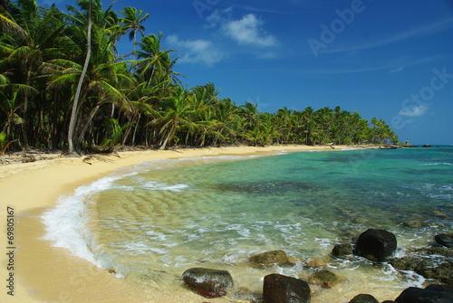 Fotomural Little Corn Island beach