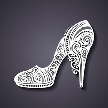 Vector Decorative Ornate Women...