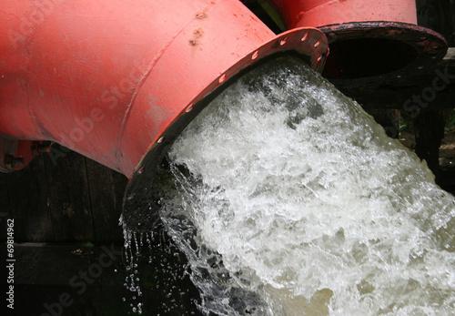 Valokuva  lot of water pipe drain