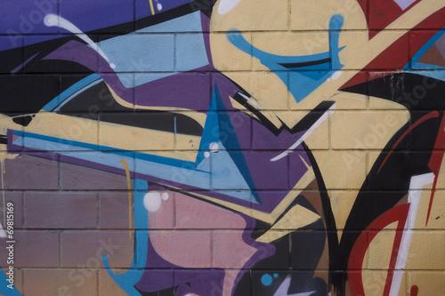 Murales vivacemente colorato © lucia_lucci