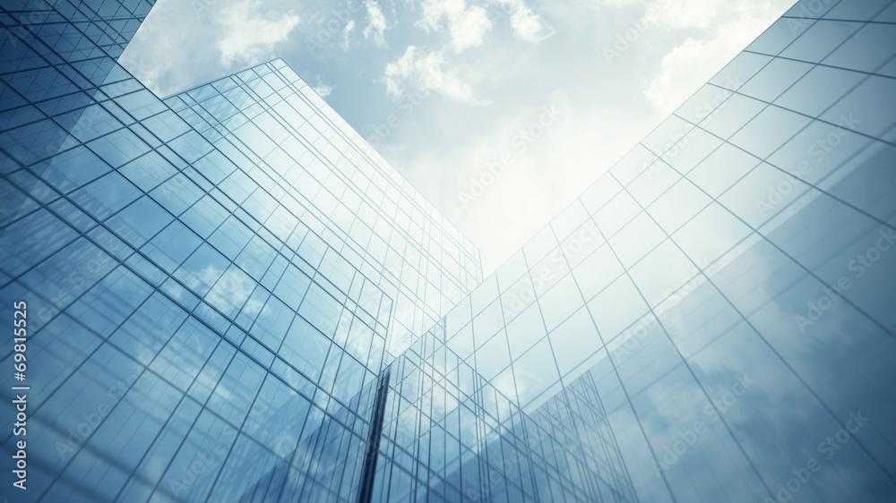 Fototapeta Skyscraper's exterior