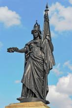Statue In Lauchhammer