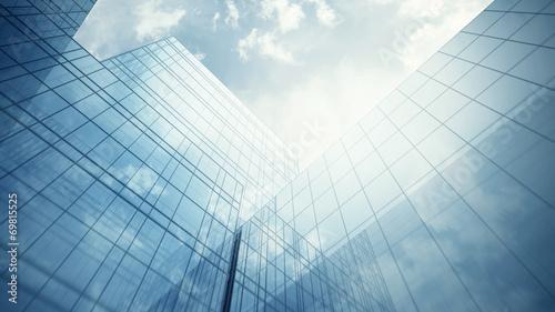 Skyscraper's exterior
