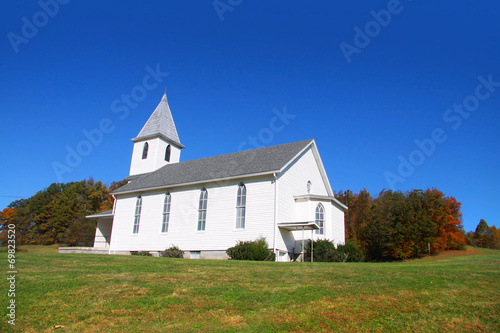 Beautiful church in West Virginia