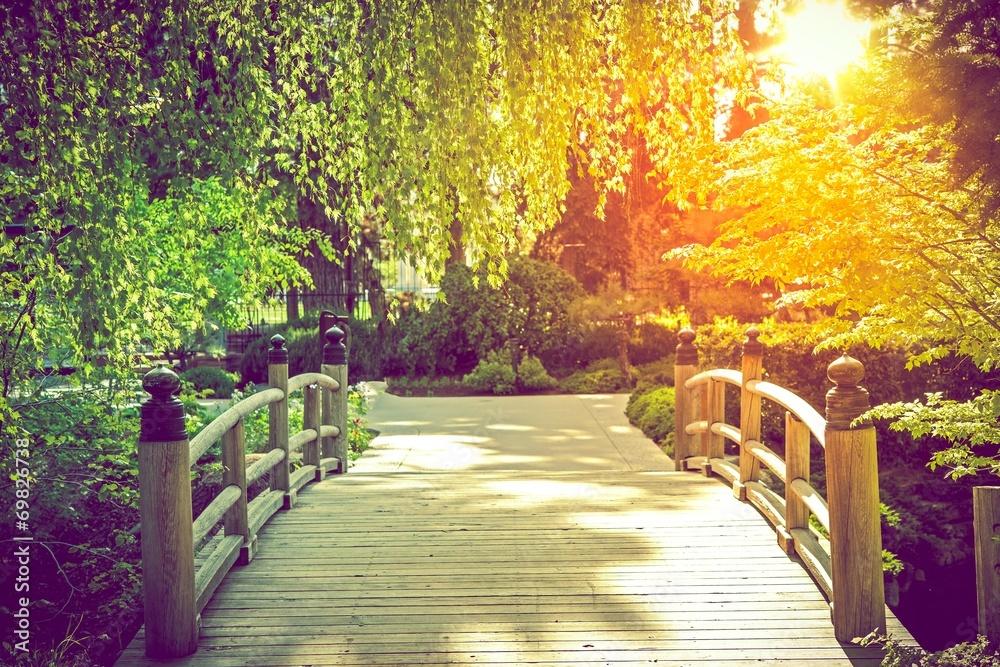 Fototapeta Scenic Garden Bridge