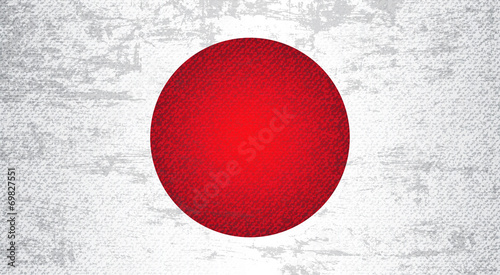 Japan Flag Art Background #69827551