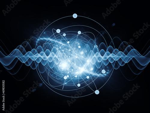 Atom Fototapete