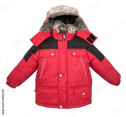 Fotografie, Tablou  Warm jacket isolated