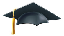 Graduation Mortar Board Hat Or...