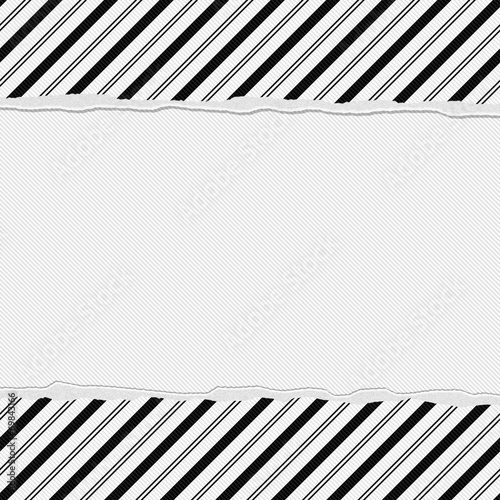 Black And White Striped Frame With Torn Background Buy This Stock