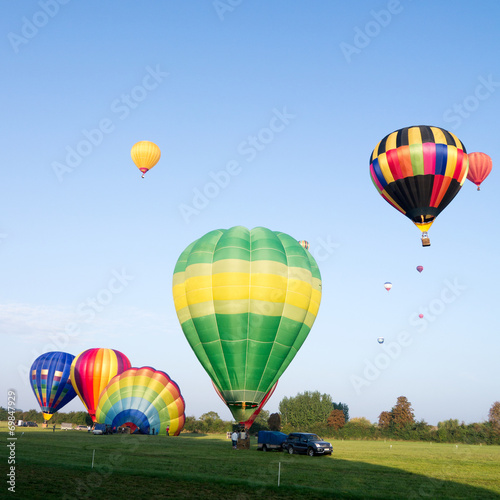 In de dag Ballon Montgolfiere #75