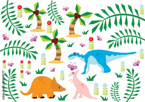 Fototapeta dinozaury obraz
