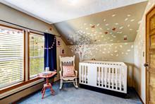 Nursery Room With Murals